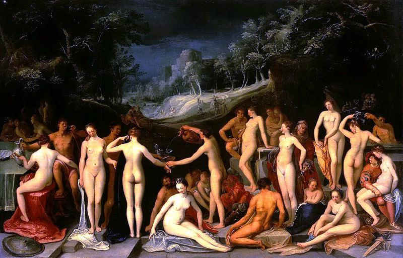 Mander, Karel van. Garden of Love. Hermitage ~ part 08