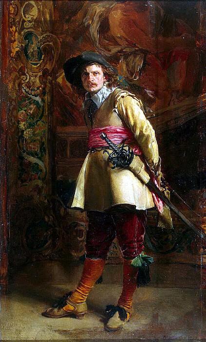 Meyssone, Jean-Louis Ernest. Musketeer. Hermitage ~ part 08