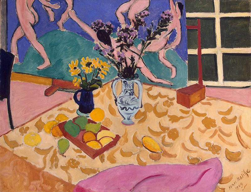 Matisse, Henry. Fruits, flowers and panels Dance. Hermitage ~ part 08