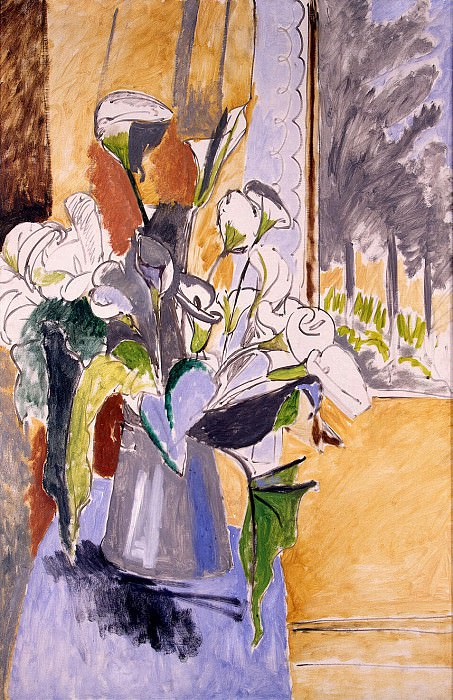 Matisse, Henry. Flowers. Calle. Hermitage ~ part 08