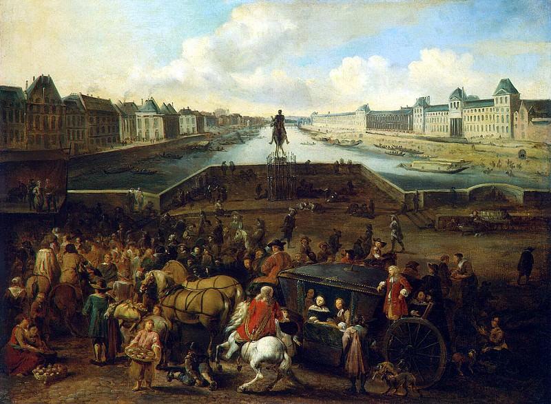 Моммерс, Хендрик - Вид Нового моста в Париже. Эрмитаж ~ часть 8
