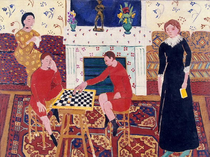 Matisse, Henry. Family Portrait. Hermitage ~ part 08