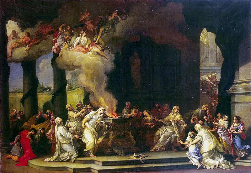 Marchesino, Alessandro. Sacrifice vestal. Hermitage ~ part 08