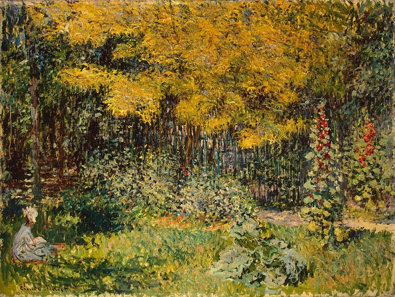 Monet, Claude. Garden. Hermitage ~ part 08