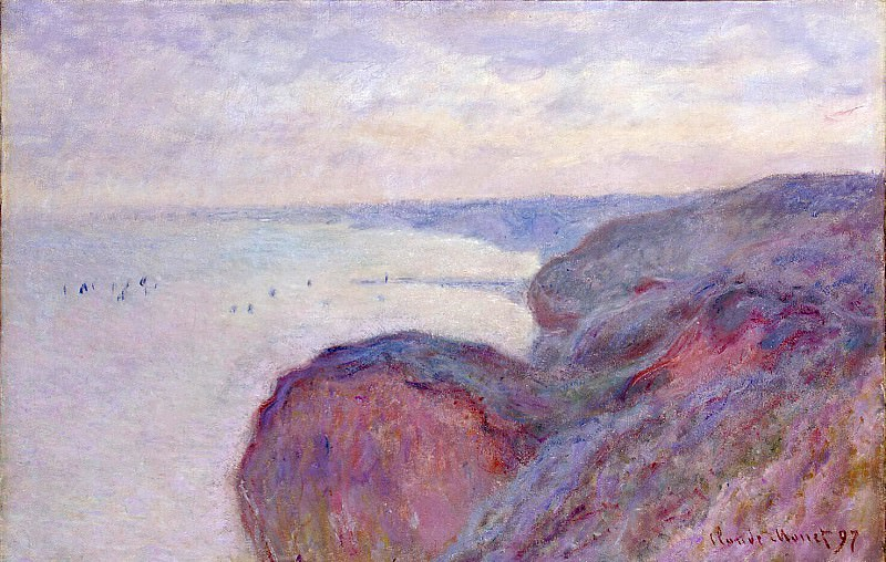 Monet, Claude. On the steep banks near Dieppe. Hermitage ~ part 08