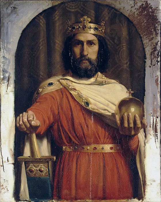 Meyssone, Jean Louis Ernest. Charlemagne, king of the Franks. Hermitage ~ part 08