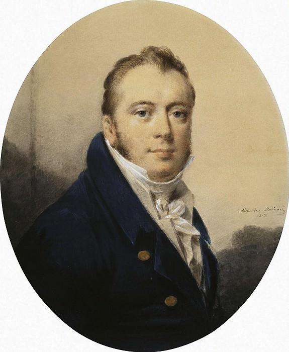 Molinari, Alexander. Portrait. Hermitage ~ part 08