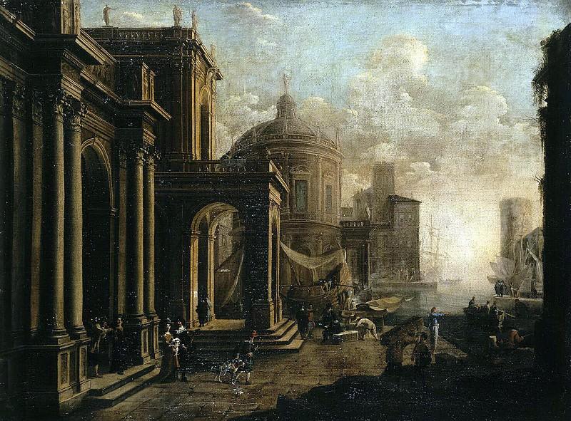 Saluchchi, Alessandro - Architectural landscape. Hermitage ~ part 08