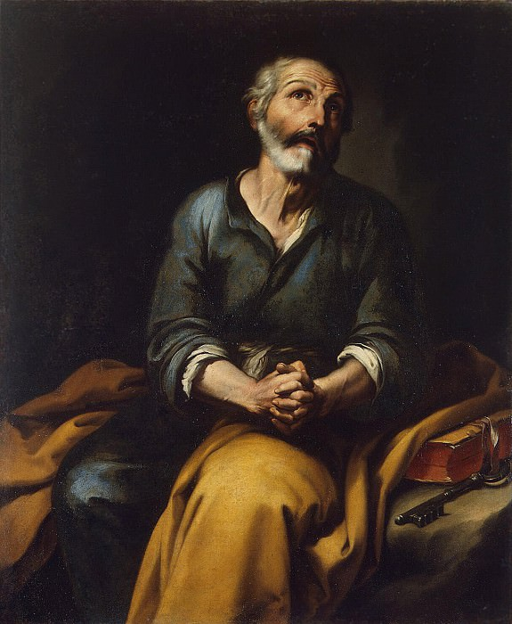 Murillo, Bartolome Esteban. Repentance of Peter the Apostle. Hermitage ~ part 08