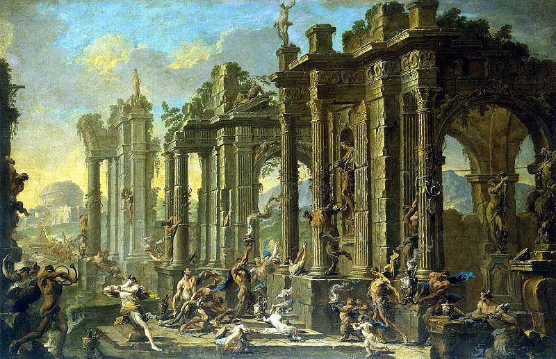 Magnasco, Alessandro Spera, Clemente. Bacchanalia. Hermitage ~ part 08
