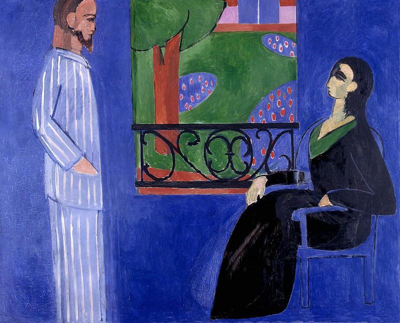 Matisse, Henry. Conversation. Hermitage ~ part 08