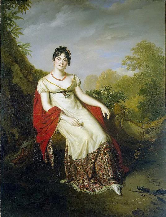Masso, Firmin. Portrait of Josephine. Hermitage ~ part 08