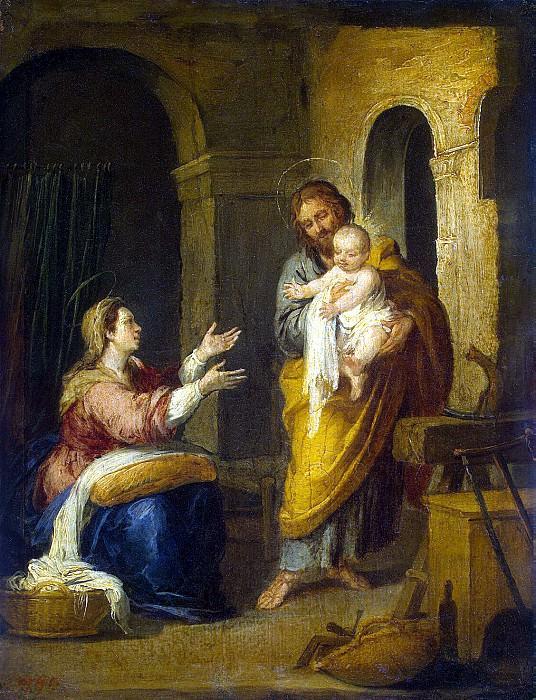Murillo, Bartolome Esteban. Holy Family. Hermitage ~ part 08