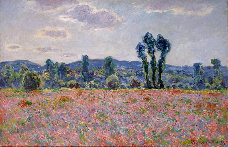 Monet, Claude. Field of poppies. Hermitage ~ part 08