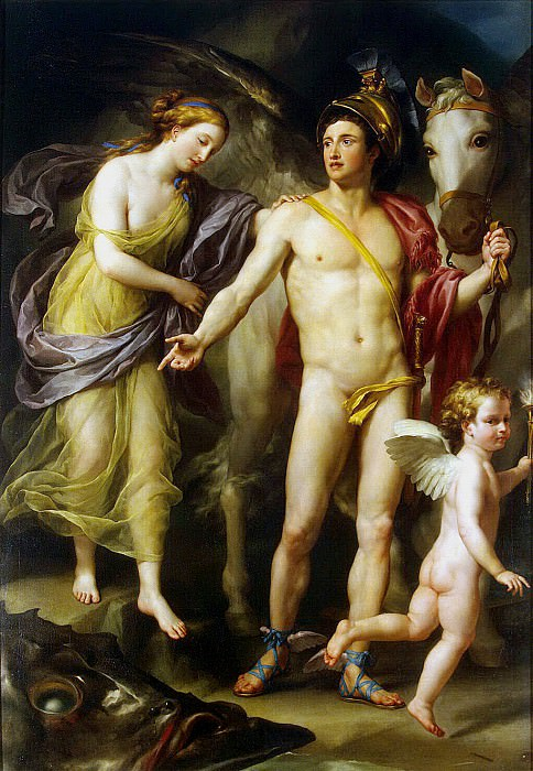 Mengs, Anton Raphael. Perseus and Andromeda. Hermitage ~ part 08
