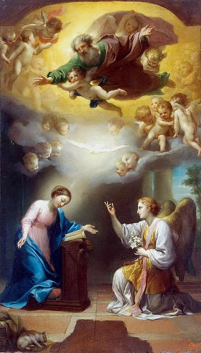 Mengs, Anton Raphael. Annunciation. Hermitage ~ part 08