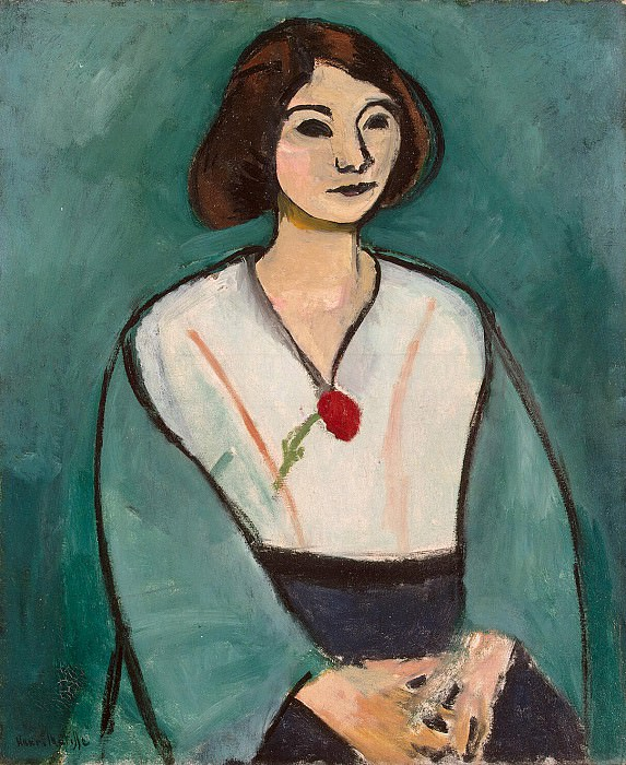 Matisse, Henry. The lady in green. Hermitage ~ part 08