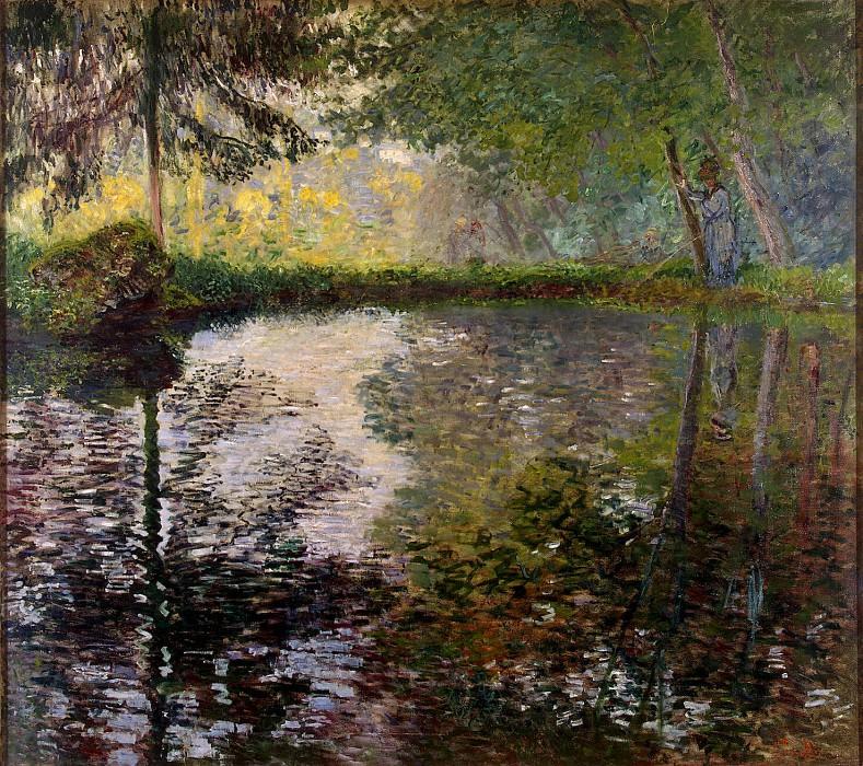 Monet, Claude. Pond at Montgeron. part 08 Hermitage