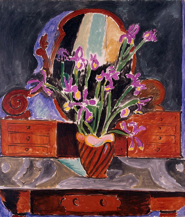 Matisse, Henry. Vase with irises. Hermitage ~ part 08