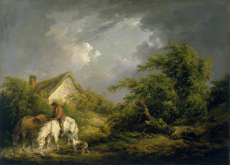 Morland, George. Approaching storm. Hermitage ~ part 08
