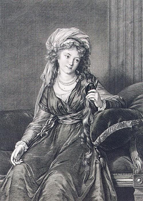 Morgen, William. Portrait of Countess Ekaterina Skavronskaia. Hermitage ~ part 08