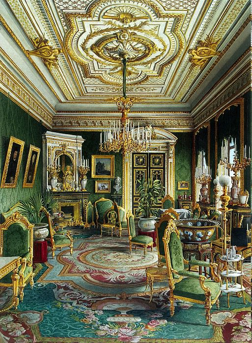 Meyblyum, Jules. Palace of Count PS Stroganov. Lounge. Hermitage ~ part 08