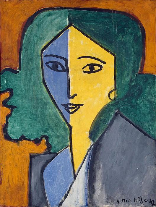 Matisse, Henry. Portrait LN Delektorskaya. Hermitage ~ part 08