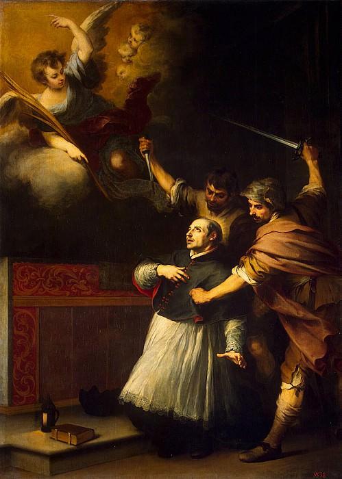 Murillo, Bartolome Esteban. The murder of the Inquisitor Pedro de Arbuesa. Hermitage ~ part 08