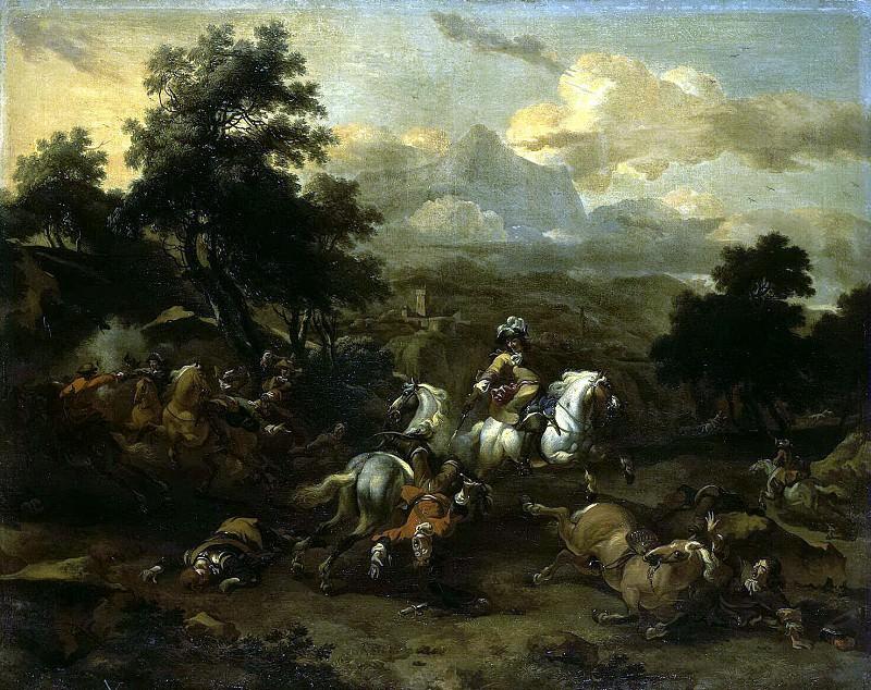 Mas, Dirk. Cavalry skirmish. Hermitage ~ part 08