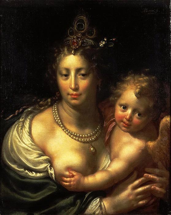 Морелсе, Паулюс - Венера с Амуром. Эрмитаж ~ часть 8