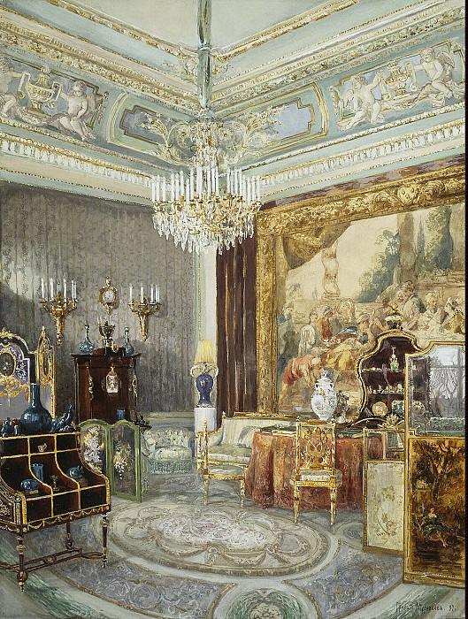 Ants, VL. Interior Anichkov Palace. Hermitage ~ part 08