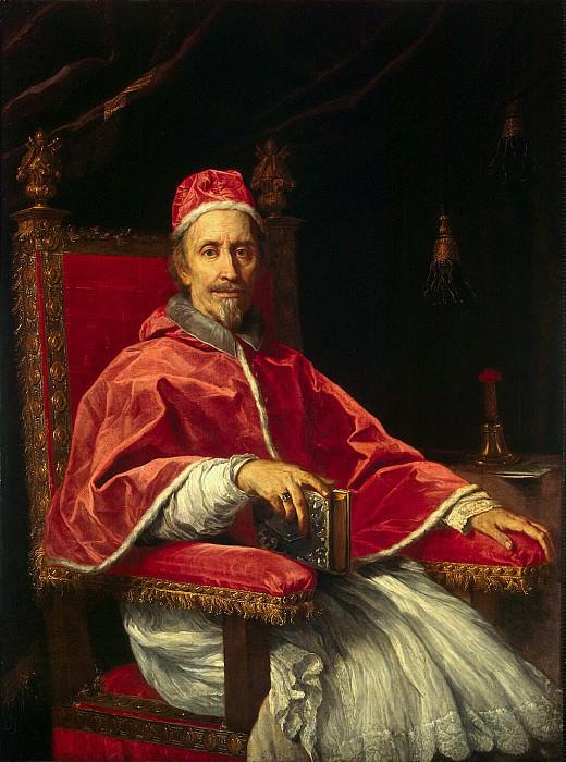 Maratti, Carlo. Portrait of Pope Clement IX. Hermitage ~ part 08