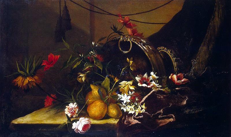 Monnuaye, Jean-Baptiste. Flowers and Fruit. Hermitage ~ part 08