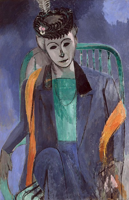 Matisse, Henry. Portrait of the Artists Wife. Hermitage ~ part 08