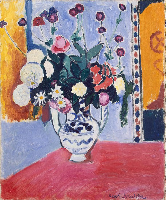Matisse, Henry. Bouquet. Hermitage ~ part 08