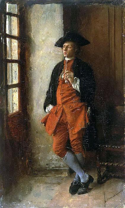 Meyssone, Jean Louis Ernest. Smoker. Hermitage ~ part 08