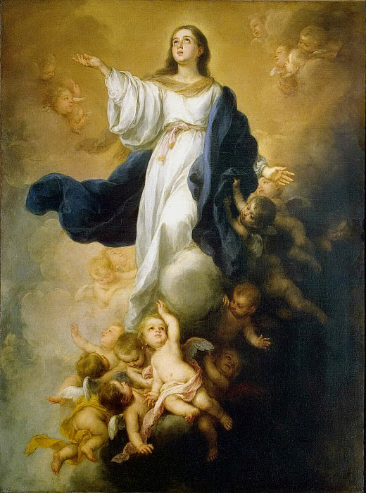 Murillo, Bartolome Esteban. Immaculate conception. Hermitage ~ part 08