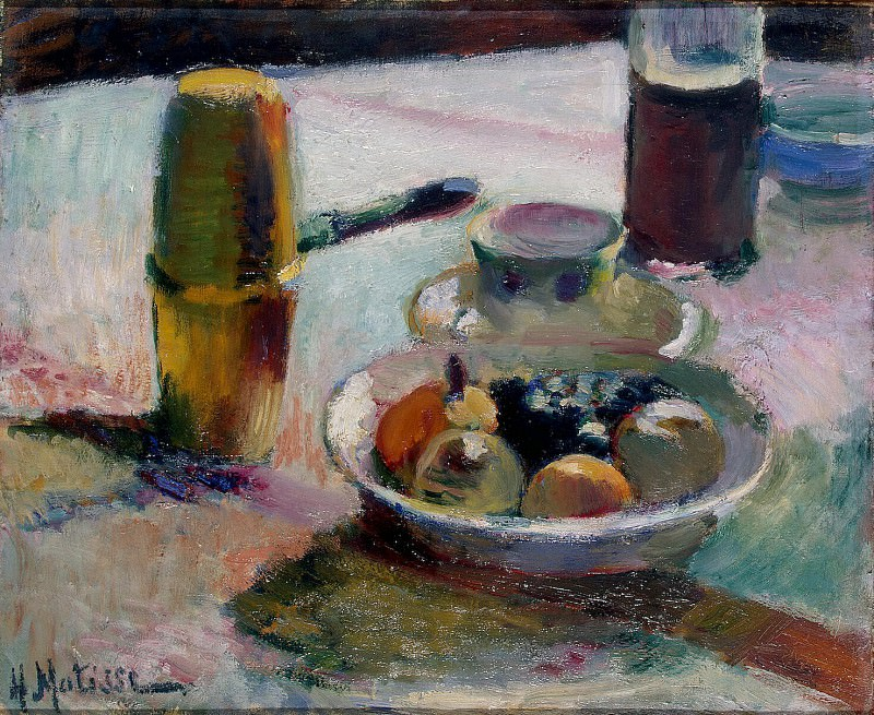 Matisse, Henry. Fruit and coffee pot. Hermitage ~ part 08