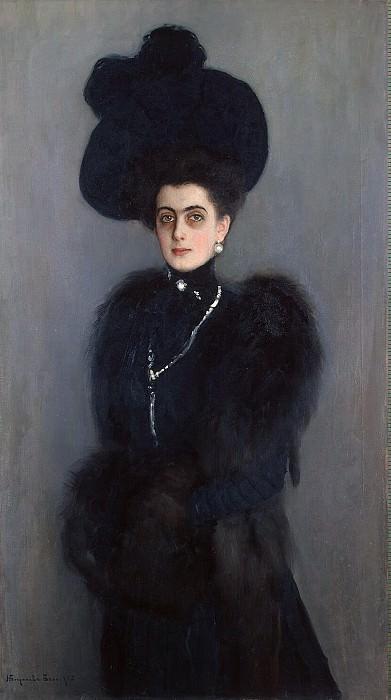 Bogdanov-Belsky Nikolai Petrovich - Portrait of MP Abamelek-Lazarus. Hermitage ~ part 02