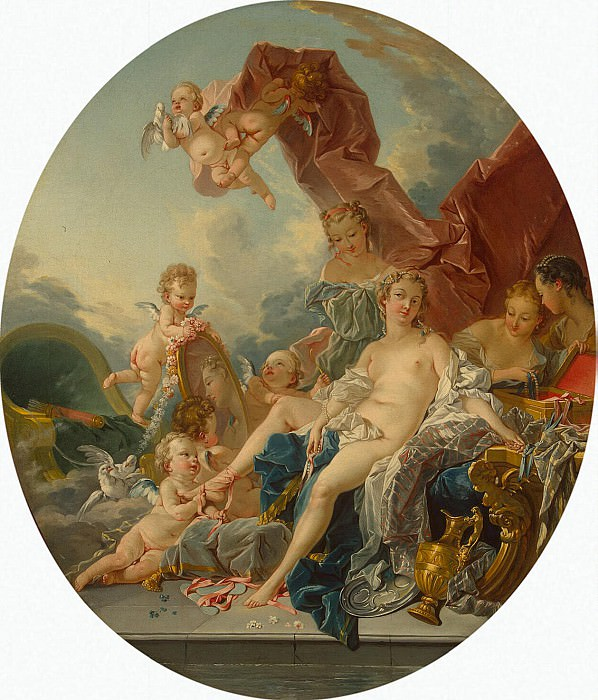 Boucher, Francois - Toilet of Venus. Hermitage ~ part 02