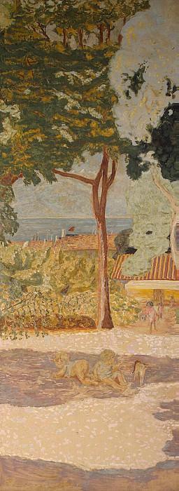 Bonnard, Pierre - In the Mediterranean Sea. Central panel. Hermitage ~ part 02