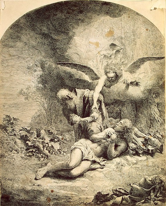 Bol, Ferdinand - The Sacrifice of Abraham. Hermitage ~ part 02