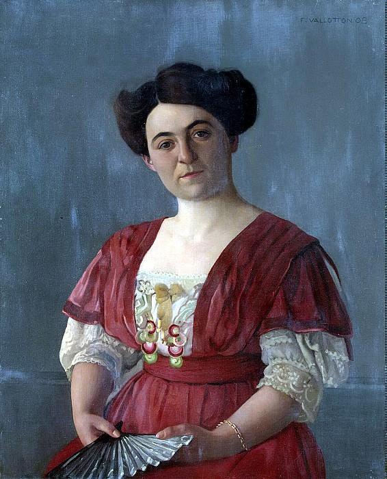 Валлоттон, Феликс - Портрет госпожи Гаазен. Эрмитаж ~ часть 2