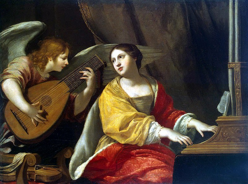 Blanchard Jacques - St Cecilia. Hermitage ~ part 02