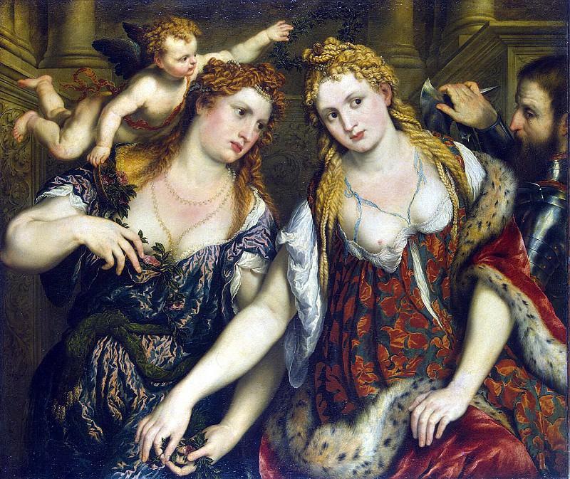 Bordon, Paris - Flora, Venus, Mars and Cupid. Hermitage ~ part 02