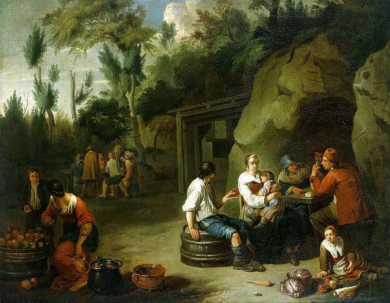 Bloom, Norbert van - Peasant Family at table. Hermitage ~ part 02