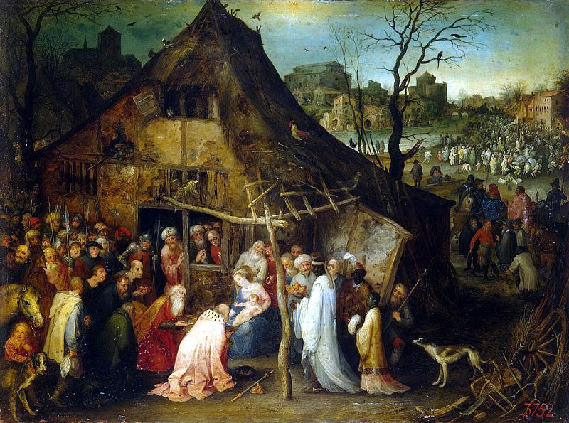 Brueghel, Jan the Elder - The Adoration of the Magi. Hermitage ~ part 02