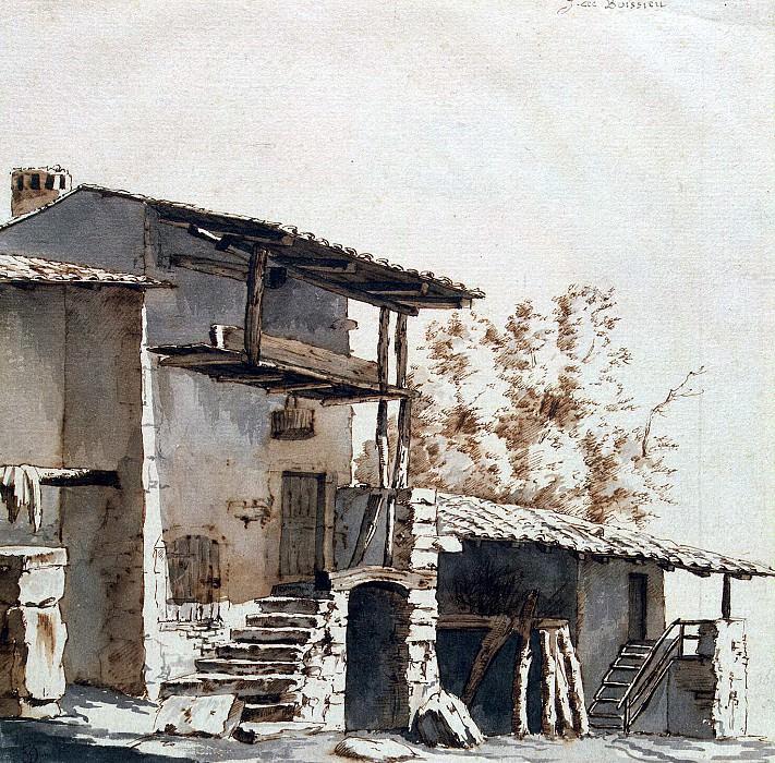 Boissier, Jean-Jacques de - House with canopy. Hermitage ~ part 02