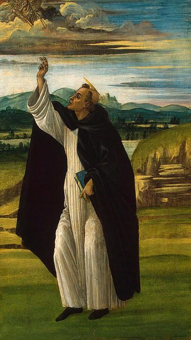 Botticelli, Sandro - St. Dominic. Hermitage ~ part 02