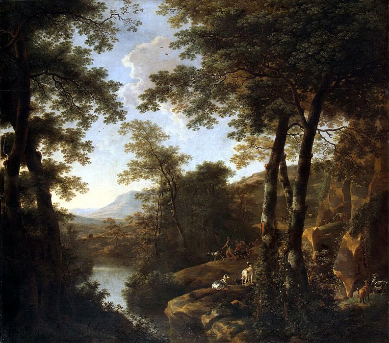 Бот, Ян - Итальянский пейзаж с римскими воинами. Эрмитаж ~ часть 2